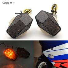 REALZION de la motocicleta soporte empotrado de LED indicadores de luz de señal de giro intermitente para Suzuki GSXR 600 K 5 750 1000 SV 650 650S 1000 S