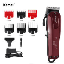 Kemei 2600 Hair Clipper Complete Hair Cutting Kit Rechargeable Electric Precision Trimmer Kit Professional Barber Hair Trimmer