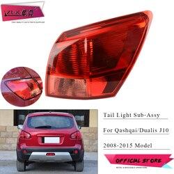 ZUK снаружи хвост светильник задний фонарь для Nissan Qashqai Dualis J10 2008 2009 2010 2011 2012 2013 2014 2015 задний светильник Taillamp