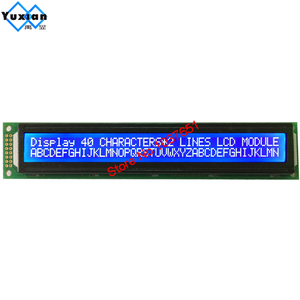Image 5 - LCD module 40*2 4002 4002A character display  LC4021 instead of  HD44780 WH4002A AC402A LMB402C