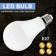 Bombillas Led E14 para iluminación interior del hogar, lámpara de 230V, E27, Bombilla Led para lámpara, 220V, 2835SMD