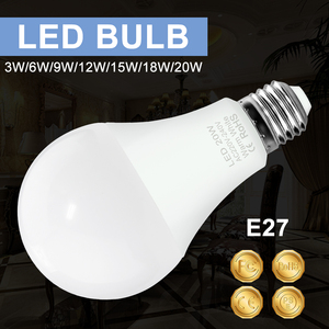 Led Bulbs E14 Spotlight Bulb Led Light 230V E27 Lampada Led Lamp Bulb 220V Bombillas 2835SMD Home Ampoule For Indoor Lighting