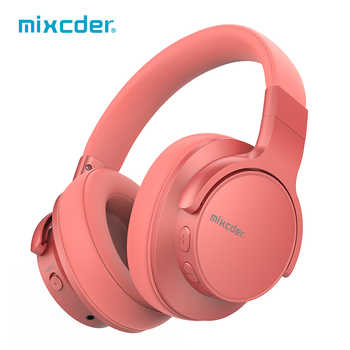 Mixcder E7 Wireless Headphones Active Noise Cancelling Bluetooth Headphone V5.0 Fast Charging ANC Headset for Phone - DISCOUNT ITEM  62% OFF All Category