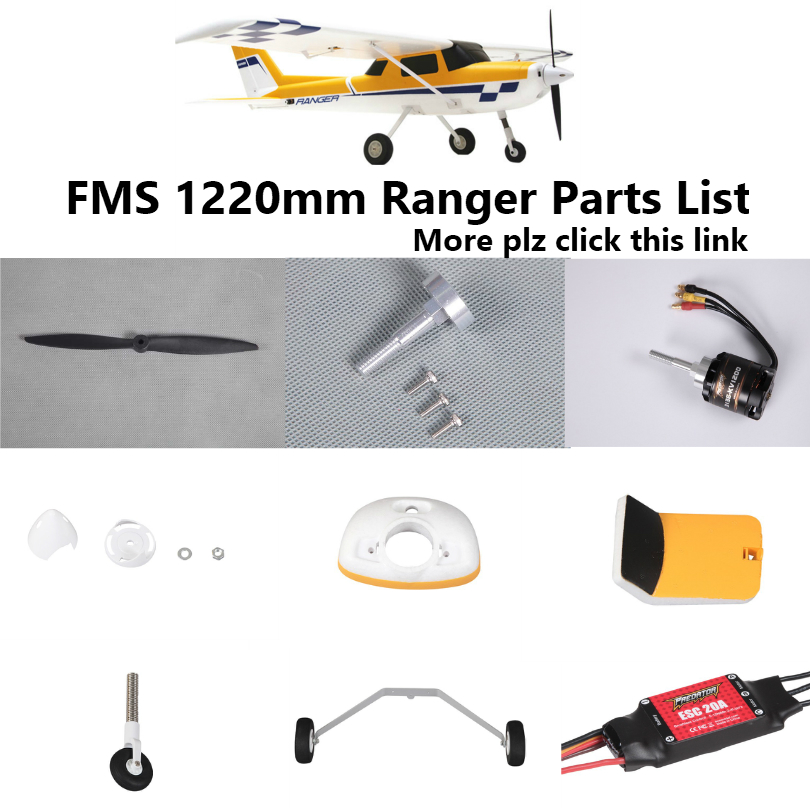 Prop Power Kit for up to 1200g RC Model Airplanes Brushless Motor+ESC for 3S