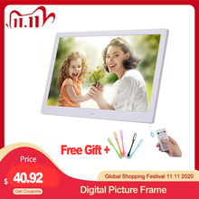 """10.1"""" HD Digital Photo Frame Picture Mult Media Player  MP3 MP4  Alarm Clock For Gift"""