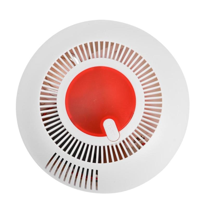 Wireless Smoke Detector Alarm High Sensitivity Independent Fire Smoke Alarm Alert Sensor For Home Security Kitchen Restaurant
