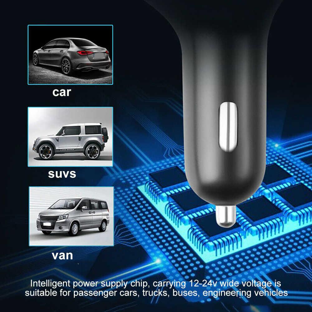 Auto Auto Radios Player Bluetooth FM Transmitter Adapter Spannung Display Dual USB Ladegerät MP3 Player Auto Zubehör