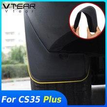 Vtear para changan cs35 plus exterior fender capa decoração do carro estilo flares respingo guarda guarnição paralama acessórios peças