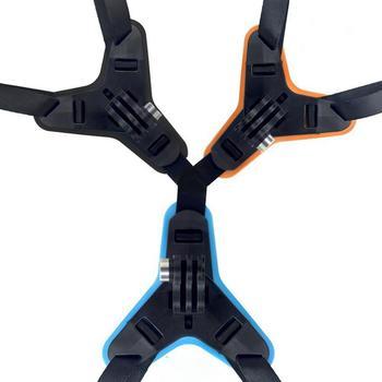 Kask motocyklowy uchwyt przedniego podbródka uchwyt statywu uchwyt na GoPro Hero 8 7 5 czarny aparat sportowy tanie i dobre opinie BRDRC JSP4782