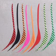 100pcs Silicone Skirt Trailers,Salty Rubber Skirt, DIY Madai Jigs, Snapper Fishing Lure, Squid Rubber Jig, Bucktail 1pc 50g 1 8oz salty rubber jigs bottom madai jig with rubber hook squid trolling fishing lures snapper jigs