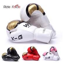 Gants de kickboxing, karaté et Muay Thai en PU pour homme et femme, pour freefight, MMA, équipement de formation d'adultes et d'enfants