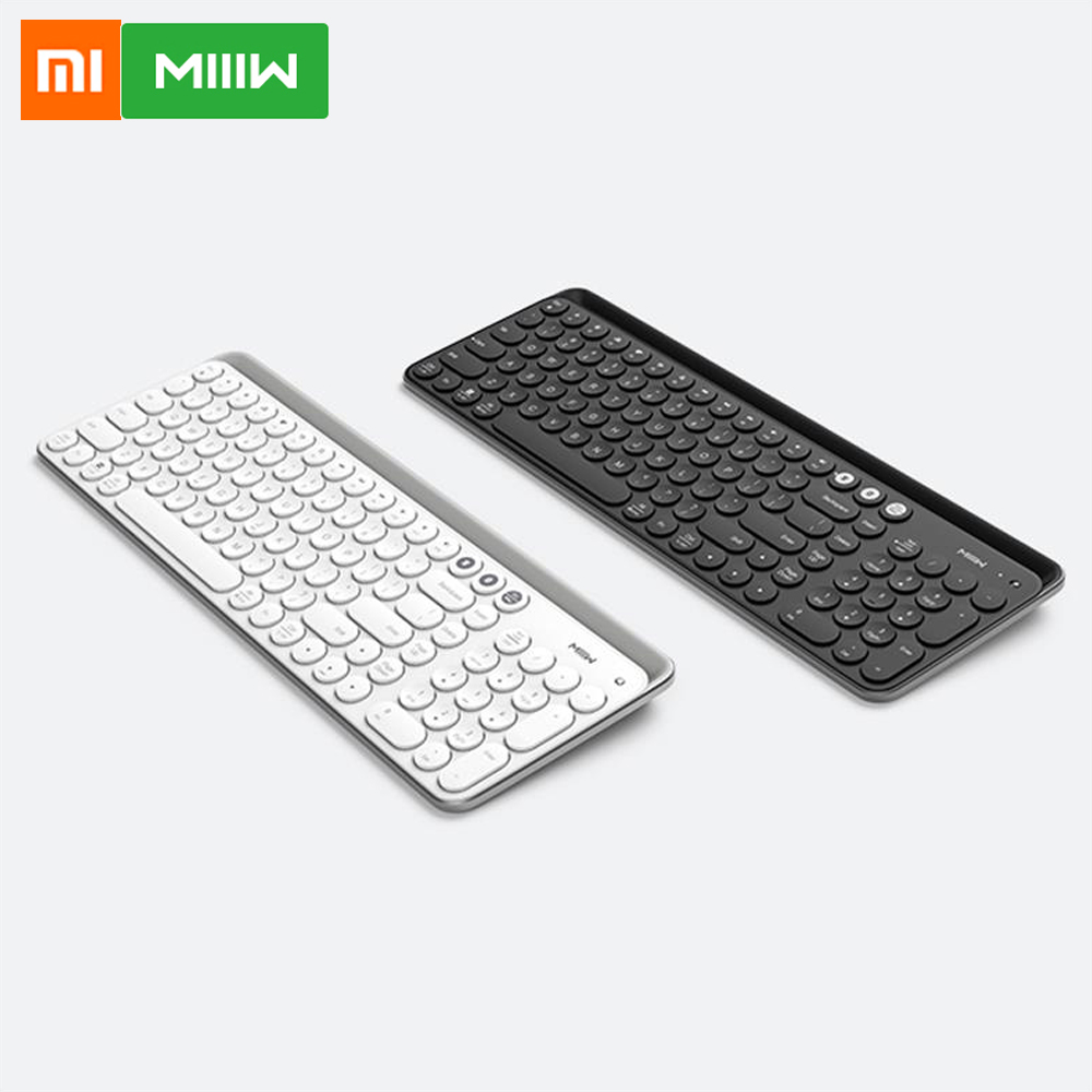 Xiaomi Miiiw Bluetooth Dual Mode Keyboard 104 Keys 2.4GHz MultiSystem Compatible For Windows PC Mac Wireless Portable Keyboard