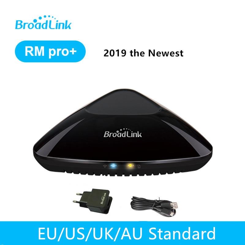 Broadlink RM Pro + Universal Inteligente Controle Remoto de Automação Residencial Inteligente 4G WiFi RF IR Trabalhar Com Alexa Google home Mini