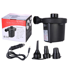 Car Electric Air Pump for outdoor travel 12V 100V-240V Boat Pump air Pump Blower Pumpair pump Inflated or deflated Outdoor use multi functional dual use electric air pump auto portable blower travel compression bag vacuum storage bag air extractor