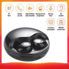 Écouteurs sans fil Bluetooth TWS-K10, casque d'écoute stéréo avec boîte de chargement, pour Xiaomi iPhone Huawei