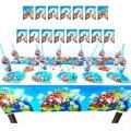 Мультфильм Super Mario Odyssey тема детское платье для дня рождения вечерние поставки баннер Baby Shower детский день рождения вечерние украшения для ду...
