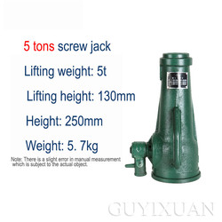 [5 ton] narzędzie jack gniazdo śruby przekładnia mechaniczna jack instrukcja jack