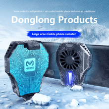Telefone móvel radiador de jogos universal telefone cooler ventilador portátil titular dissipador calor para iphone samsung huawei para pubg android ios