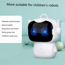Hot Children Intelligent Robot Early Education Toys Smart Portable Teacher Toy Dialogue Touch Sensor Voice Controlled Robot(China)