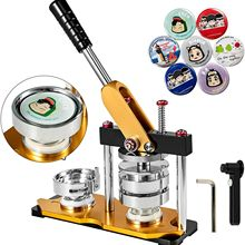 Pin-Maker Badge-Maker-Machine Circle-Cutter Button-Parts with 100pcs And 44mm Punch-Press
