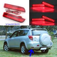 Für Toyota RAV4 Schwanz Licht led 2006-2012 PREVIA Alphard 2010-2012 Hinten Stoßstange lichter 2 stücke hinten lichter rückleuchten bremslicht