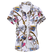 fashion 2020 new mens short sleeve floral shirt plus size 7xl silk hawaiian shirts for men plus size short sleeve floral pattern swimwear for women