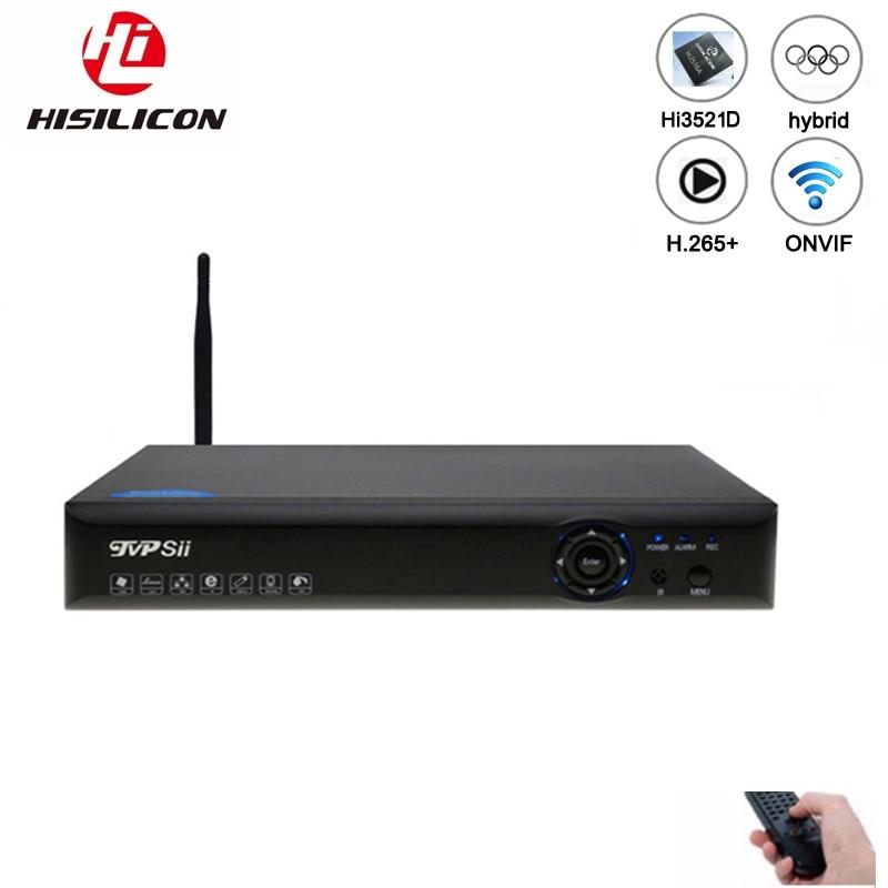 1080P CCTV Camera XMeye Blue-Ray Panel Hi3520D 1080N 4CH/8CH 6 In 1 Wifi Hybrid Coaxial XVI NVR CVI TVi AHD DVR Free Shipping