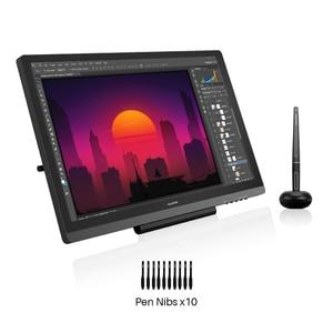 Монитор для рисования Huion Kamvas 20, 19,53 дюйма, AG, цифровая графическая ручка для профессионального рисования, планшет, монитор, 8192 уровня