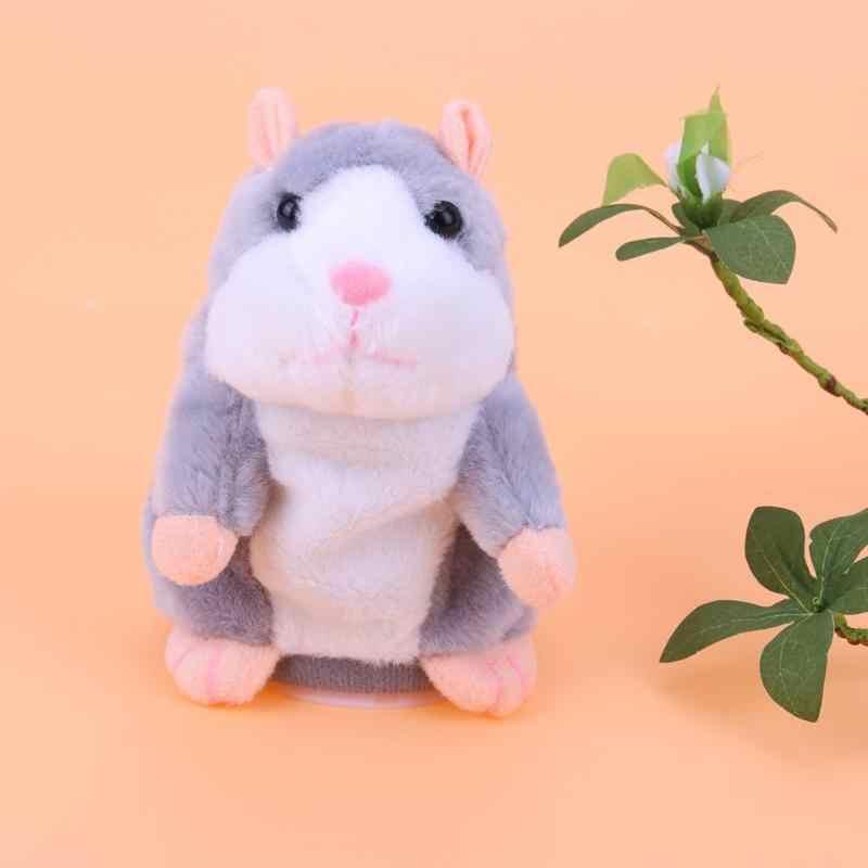 Kids Talking Speelgoed Hamster Pluche Spreken Geluid Speelgoed Baby Elektronische Huisdieren Speelgoed Schattige Pluche Poppen Sound Record Spreken Hamster Gift