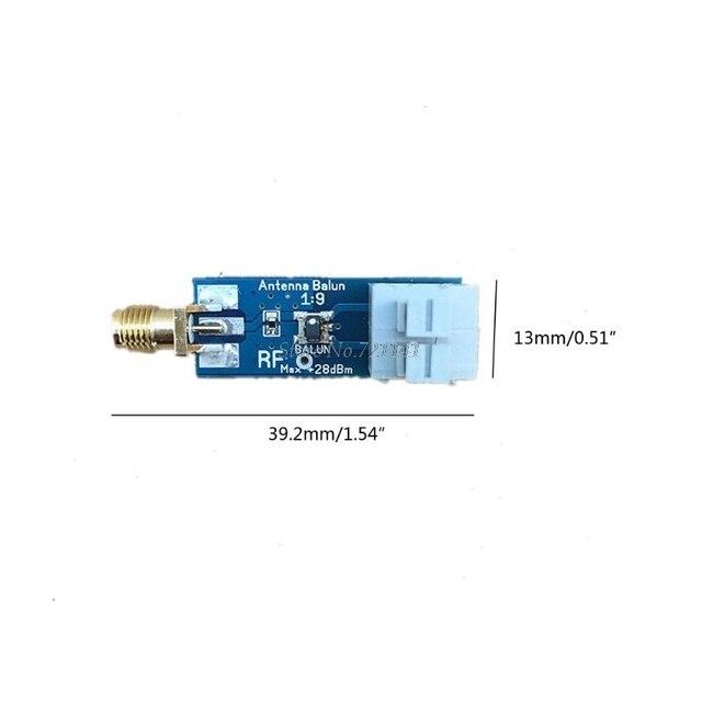 1:9 HF antena Balun jeden dziewięć: Tiny niski koszt 1:9 Balun pasmo częstotliwości długi przewód HF antena RTL-SDR 160m-6m nowy Whosale i Dropship