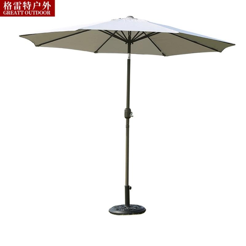 Gelert Outdoor Umbrella Patio Umbrella Parasol 2.7m Hua Yuan San Steering With Remote Hand Patio Umbrella Currently Available Wh