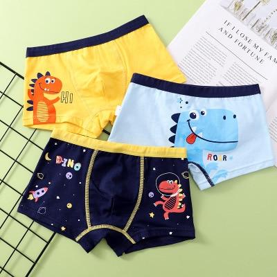 VIDMID new Baby kids  Boys Panties Cotton Underwear Boxer Underpants for boys Cartoon Children's Underwear Clothing 7130 04 6