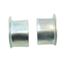 For Honda New Set of 2 Exhaust gasket Collar Pipe Joint flanges 100 125 200 250 400 500 550 CB400F