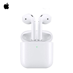 Apple AirPods 2nd Original Air Pods Bluetooth Headset with Wireless Charging Case
