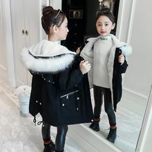 Zimowe dziewczyny bawełniana kurtka 2020 nowych dzieci moda Parker płaszcze zimowe ubrania dla dzieci Plus aksamitna gruba bawełniana kurtka 15T tanie tanio ZERONGZHIYI COTTON CN (pochodzenie) Stałe REGULAR Z kapturem Kurtki płaszcze zipper Pasuje prawda na wymiar weź swój normalny rozmiar