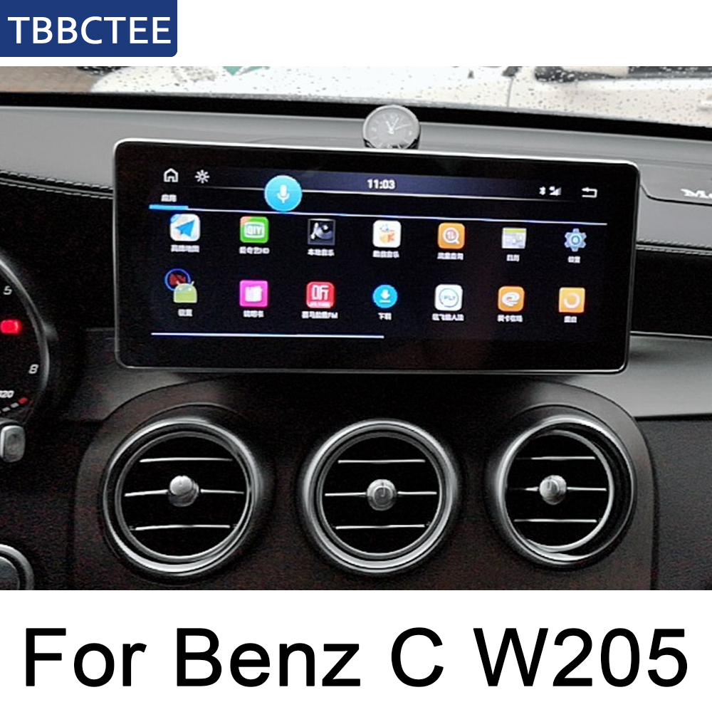<font><b>For</b></font> <font><b>Mercedes</b></font> Benz C Class W205 2015~<font><b>2019</b></font> NTG Original Style Multimedia Player HD Screen Stereo Android Car GPS Navi Map Radio image