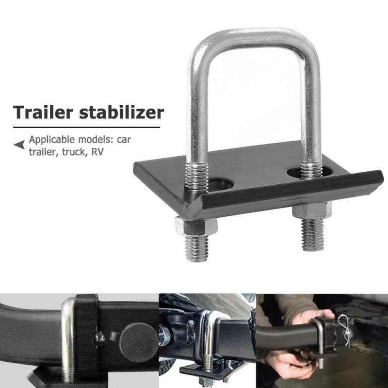 Trailer Lock Down Hook Stabilizer Anti-Rattle Hitch Tightener Clamp Iron Part