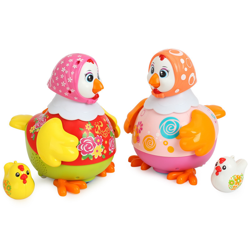 Tianyuan Toy Huile Toys 718 Dancing Chick Electric Toys Children Music Learner Crawling