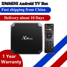4K x96mini x96 mini Android Smart TV BOX 2GB/16GB TVBOX Amlogic S905W H.265 4K 2.4GHz WiFi Media Player Set Top Box