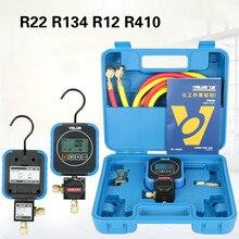 Manomètre numérique pour réfrigérant, outil de climatisation pour R22 R134 R600 R410, valeur VRM1-0101i