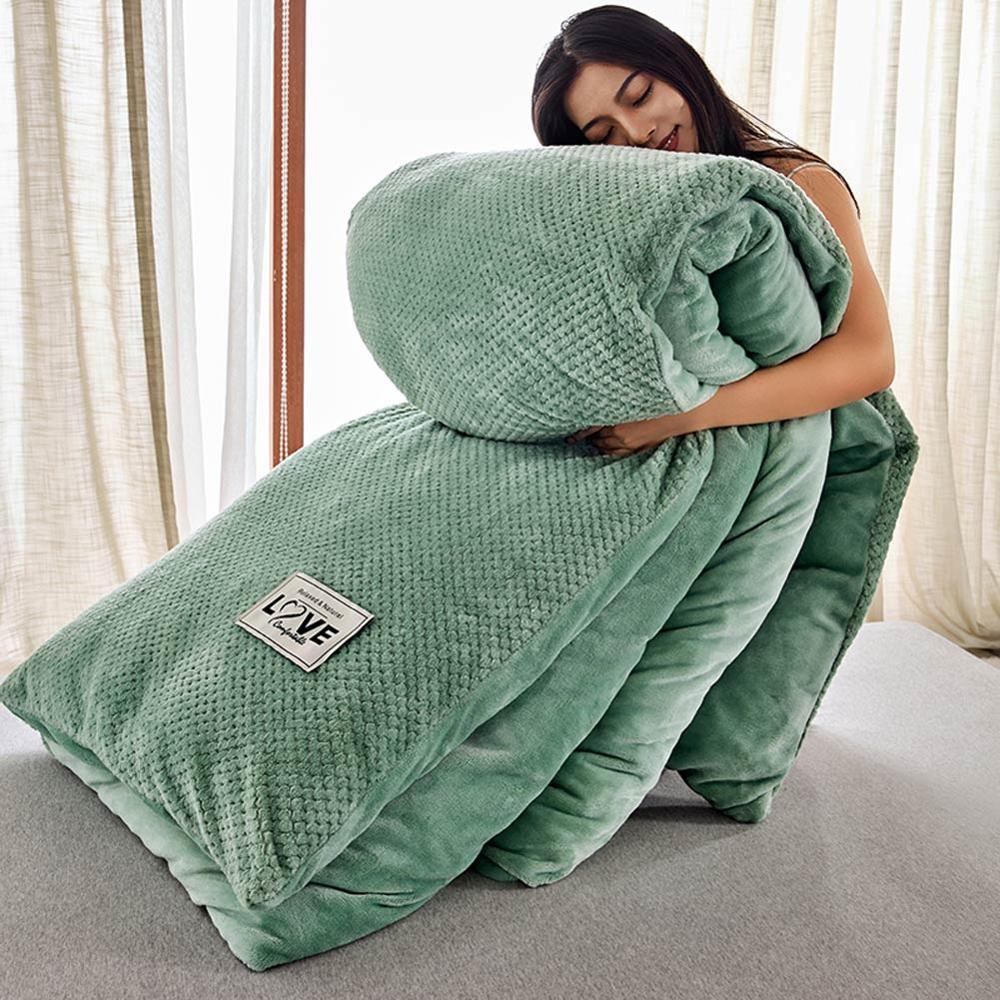 Svetanya теплое одеяло толстое одеяло зимнее одеяло