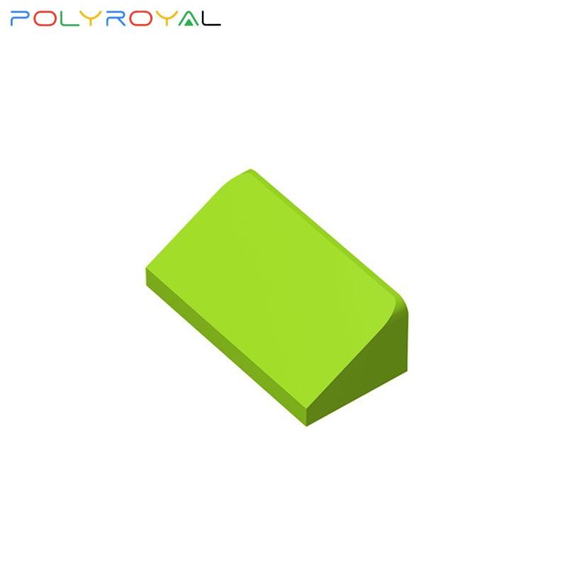 Строительные блоки аксессуары DIY пластиковые пластины 1x2x 2/3 Наклонный кирпич 10 шт Развивающие игрушки для детей подарок на день рождения 85984