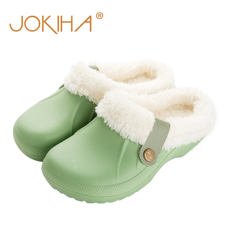 Sandals Slippers Footwear Mule Slides Garden-Clogs Winter Unisex Women's New-Fashion