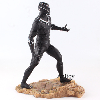 Civil War Black Panther Action Figure United We Stand Divided We Fall PVC Narvel Figure Collectible Model Toy