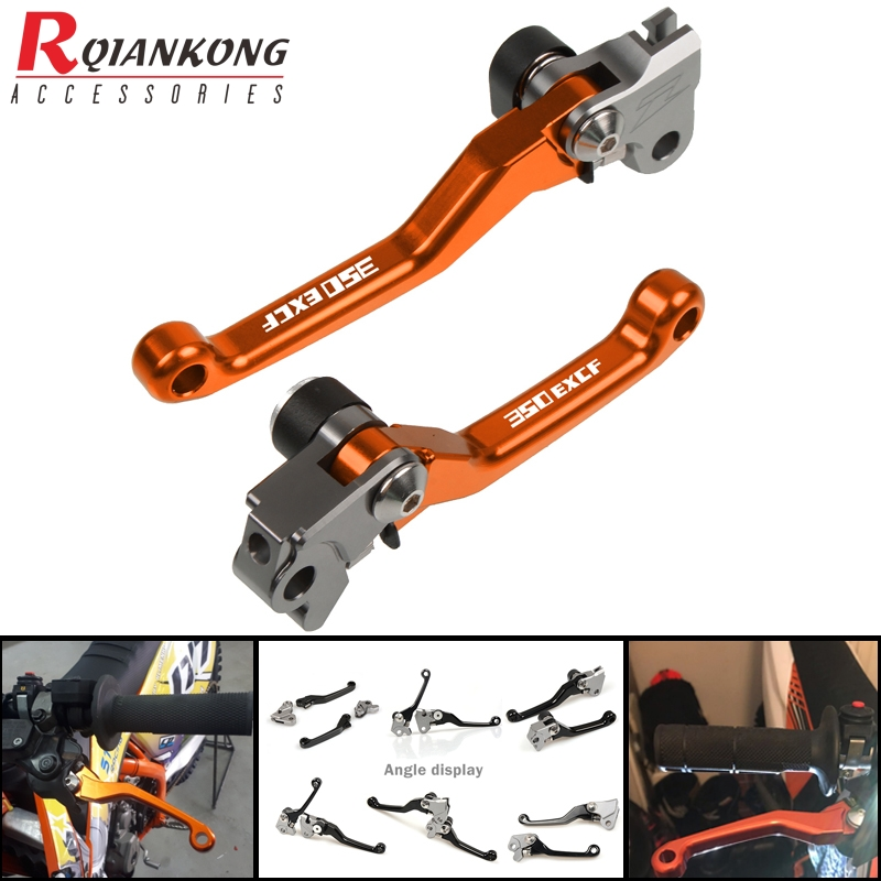 <font><b>350</b></font> EXC-F <font><b>2011</b></font>-2013 Motorcycle Dirt Bike Brake Clutch Levers Motorcross Alunimun handle levers FOR <font><b>KTM</b></font> 350EXC-F <font><b>2011</b></font> 2012 2013 image