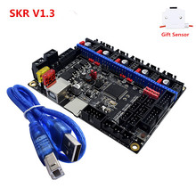Новая плата управления SKR V1.3, 32 битный процессор, 3D принтер, обновленная материнская плата, панель для Ender 3 CR10, совместимая с Smoothieware Marlin 2,0