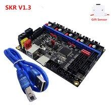 새로운 SKR V1.3 컨트롤 플레이트 32 비트 CPU 3d 프린터 업그레이드 마더 보드 패널 Ender 3 CR10 호환 스무디 말린 2.0