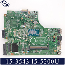 KEFU 13269-1 Laptop motherboard for Dell Inspiron 15-3543 14-3443 original mainboard I5-5200U цена