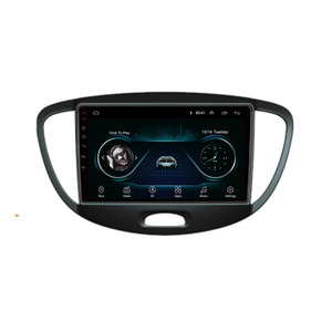 4G LTE Android 10.1 For HYUNDAI i10 2007 -2013 Multimedia Stereo Car DVD Player Navigation GPS Radio