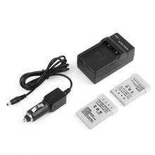 3.7V 1400mAh EN-EL5 Rechargeable Li-ion Camera Battery + Battery Charger & Car Charger Cable for NIKON COOLPIX стоимость